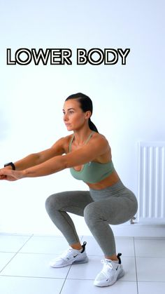 Lower Body Exercises At Home