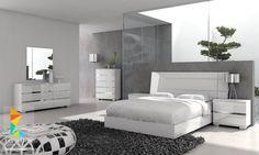 غرف نوم مودرن للعرسان - modern bedrooms furniture
