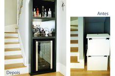 Portal Decoração - Debaixo da escada