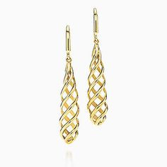 Paloma's Venezia Luce drop earrings in 18k gold, small.