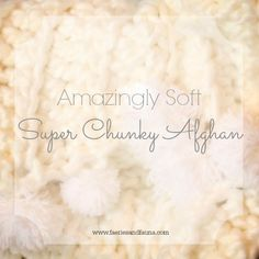 My own personal snuggle blanket. This afghan is warm, mega soft, cuddly and squeezable. What more can you ask for?