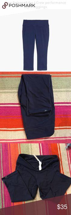 New Balance for J. Crew Leggings, Capri, Navy, L New Balance for J. Crew Leggings, Capri, Navy, Large, worn 1x J. Crew Pants Leggings