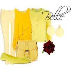 Belle, created by sydney-emerson on Polyvore
