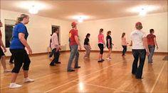 bop line dance - YouTube