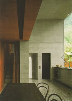 KITCHEN // Zumthor House / Peter Zumthor