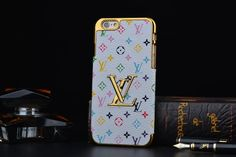 Fashion Designers White Flowers Louis Vuitton (LV) iPhone 6S Cases & iPhone 6S Plus Cases   | Apple iPhone6S Cases