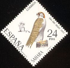 Lanner Falcon stamps - mainly images - gallery format