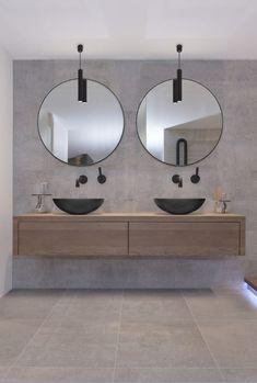 A bathroom furniture exactly the way you want it!- Een badkamermeubel precies zoals jij 'm wil! – – – A bathroom furniture exactly the way you want it! Bathroom Faucets, Bathroom Cabinets, Small Bathroom, Master Bathroom, Bathroom Mirrors, Remodel Bathroom, Black Bathroom Sink, Bathroom Sink Units, Bathroom Cost