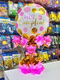 Balloon Crafts, Balloon Gift, Balloon Decorations, Candy Bouquet, Balloon Bouquet, Balloon Basket, Chocolate Crafts, Surprise Box, Gift Baskets