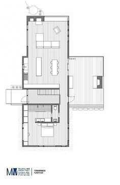 Image 11 of 11 from TinkerBox / Studio MM Architect Gallery Floor plan The Plan, How To Plan, Layouts Casa, House Layouts, Architecture Plan, Residential Architecture, Classical Architecture, Ancient Architecture, Sustainable Architecture