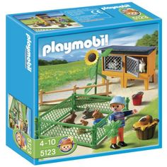 $11.99 Playmobil Rabbit Pen  From PLAYMOBIL®   Get it here: http://astore.amazon.com/toys4kids09-20/detail/B004LQUHBQ/179-1805376-5196436