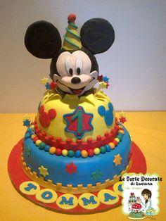 le torte decorate: torta topolino