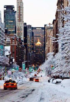 Downtown Christmas time