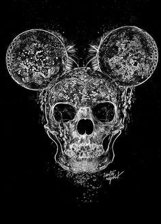 Obery Nicolas http://www.creativeboysclub.com/tags/we-love-skulls