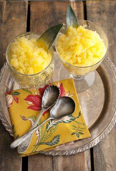 Try this great Pineapple and Mango Granita from MuyBuenoCookbook.com