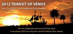The Transit of Venus - LIVE! http://1.usa.gov/vtlive