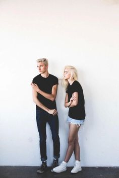 Lucky Blue and Pyper America Smith