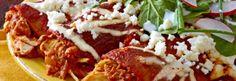 Enchiladas Frescos - Enchilada Recipe