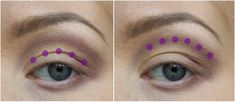 How to: Makeup for deep set & hooded eyes – Charlotta Eve Loading. How to: Makeup for deep set & hooded eyes – Charlotta Eve Deep Set Eyes Makeup, Dark Eye Makeup, Natural Eye Makeup, Eye Makeup Tips, Makeup For Brown Eyes, Smokey Eye Makeup, Makeup Set, Natural Eyeshadow, Makeup Inspo