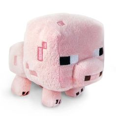 """Minecraft marron bébé cochon vache mouton Jeu Vidéo PELUCHE 6/"""" en peluche animal kids"""