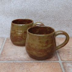 Cuddle Mug Coffee Tea Cup Hand Thrown Stoneware Pottery by Caractacus Pots on Gourmly