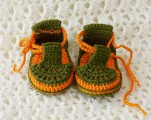 CROCHET PATTERN, Crochet Baby Sandals, baby crochet pattern, Easy Photo Tutorial…