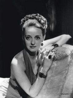 bette davis, photographed by george hurrell for You Magazine, c.1938