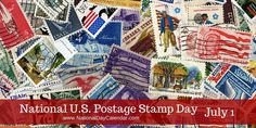 If you are a philatelist this is your day to celebrate! Or at the least, study a stamp or two...  #USPostageStampDay