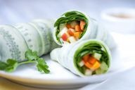 Salad wraps #healthy #vegan #apples #raw