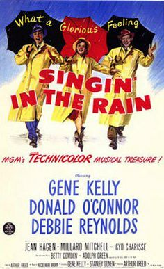 Singing In the Rain. I'm singing in the rain. What a glorious day...