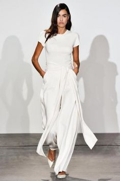 Still all about going all-white #nonoo #nyfw #ss15