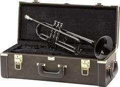 Looks like Yamaha created a black lacquer Xeno, the I don't know if it sounds good but most trumpet players quickly avoid anything colored. a general rule of thumb Yamaha Trumpet, Trumpet Music, Trumpet Players, Band Band, Random Stuff, Cool Stuff, Sounds Good, 50th Anniversary, Musical Instruments