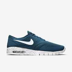 the best attitude 6d8c1 c7eeb Hot New Nike Eric Koston 2 Max Mens Shoes White Blue on Sale Skateboard  Cheap Sale Ligne