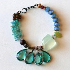 threetrees jewelry   ... Jewelry with Natural Gemstones, Chunky Bracelet, Hippie Jewelry