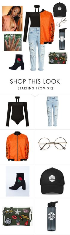 """""""Night Out ootd ✌"""" by sapphire-stone ❤ liked on Polyvore featuring Miss Selfridge, Topman and ZeroUV"""