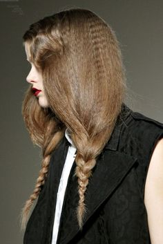 crimped braids