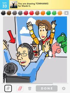 DrawSomething - Tom Hanks