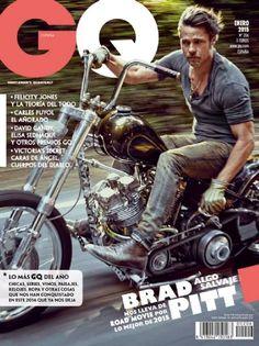 Brad Pitt - GQ Magazine Cover [Spain] (January 2015)
