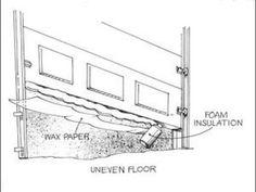 When A Shop Floor Is Uneven, The Seal On An Overhead Door May Not Work