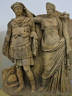 Nero and Agrippina ... An awesome piece of ancient statuary. What story does this tell? How is it a piece of propaganda?