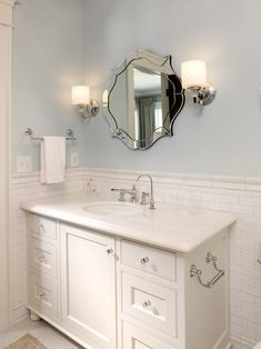Bathroom White Subway Tile Bathroom Design, Pictures, Remodel, Decor and Ideas - page 65