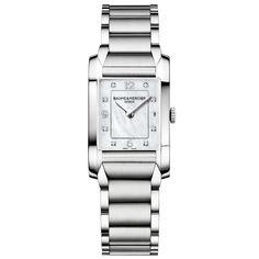2fd81ec211d Baume  amp  Mercier Women s Swiss Hampton Stainless Steel Bracelet Watch...  (9