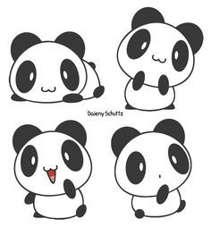 Little Panda by Daieny.deviantart.com on @DeviantArt