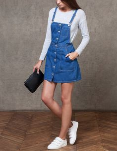 Jeans dress - Teenager Outfits That Will Make You Look Great Beauty Tips outfits outfitideas fashion fashionoutfits Teenager Outfits, Outfits For Teens, Trendy Outfits, Summer Outfits, Fashion Outfits, Dress Fashion, Outfit Jeans, Jeans Dress, Dress Outfits