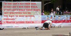 Run, Walk or Crawl!