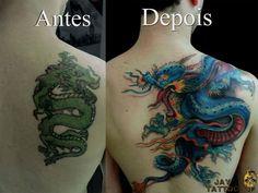 cover up, cobertura tattoo, dragon, dragão oriental tattoo
