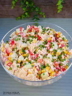 Pasta Salad, Cobb Salad, Polish Recipes, Polish Food, Salads, Food And Drink, Ethnic Recipes, Grill, Asia