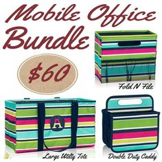 Thirty-One September 2016 Bundle! #ThirtyOne #monthlySpecial #LargeUtilityTote…