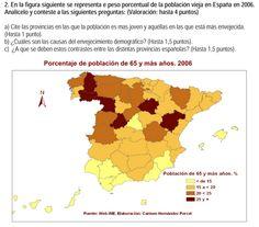 2008. Población anciana por provincias 2006