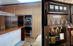 21 genius kitchen designs you�ll want to re-create in your home #WineDispenser